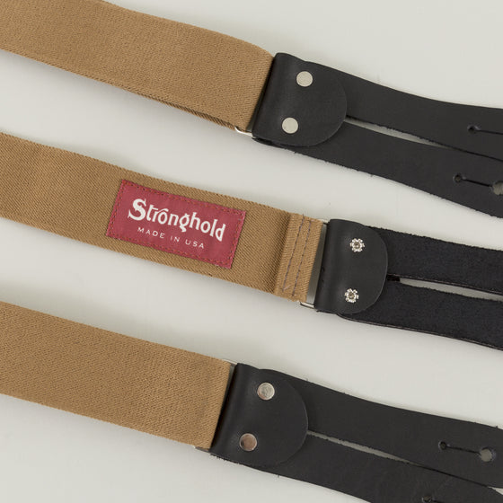 The Stronghold Suspenders Tan Image #1