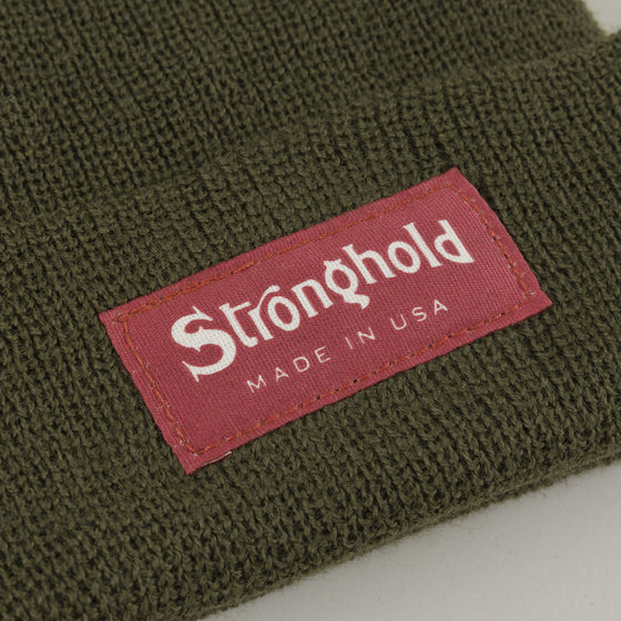 Wool Watch Cap, Olive
