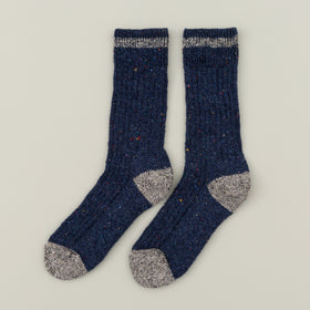 Wigwam Fireside Wool Socks Blue Image #2