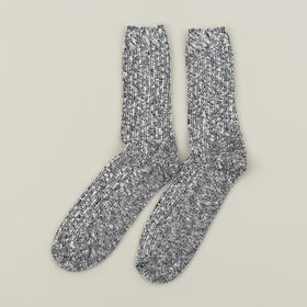 Wigwam Marled Cotton Socks Black Image #2
