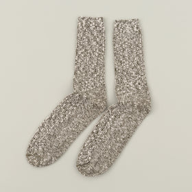Wigwam Marled Cotton Socks Olive Image #2