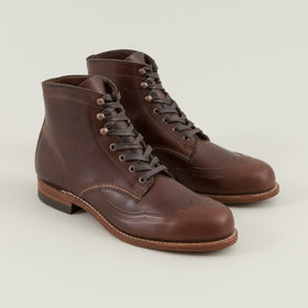 Wolverine Addison 1000 Mile Boots Brown Image #1