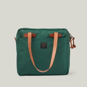 Tote Bag w/ Zipper , Hemlock Green