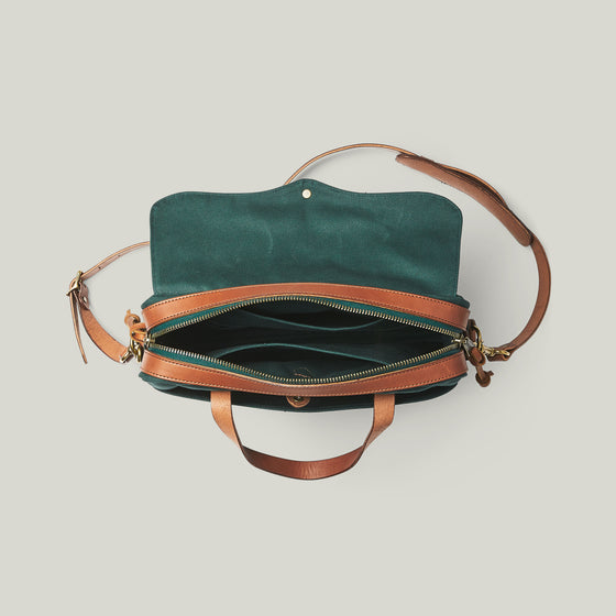 Original Briefcase, Hemlock Green