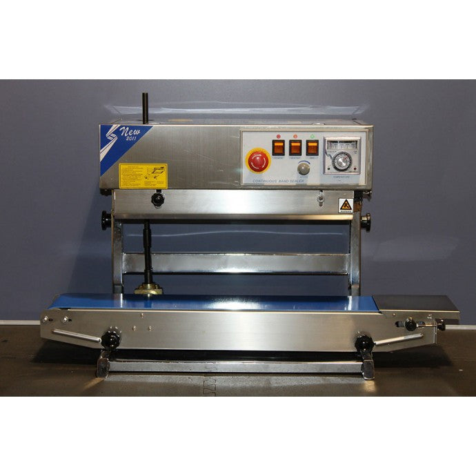 RSV1525SS - STAINLESS STEEL VERTICAL TABLETOP BAND SEALER