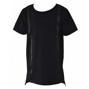 Strapped Up Tee - Black - YNG.BLD