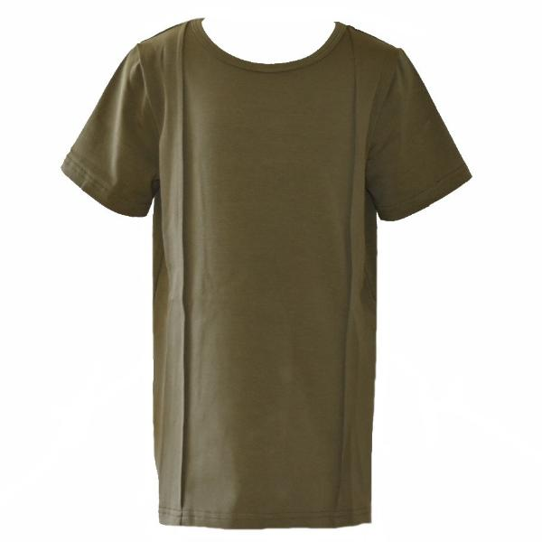 Pleated Tee - Olive - YNG.BLD