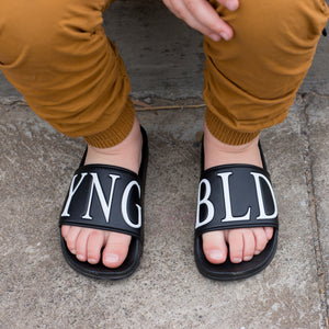YNG BLD SLIDES (NEW STYLE)