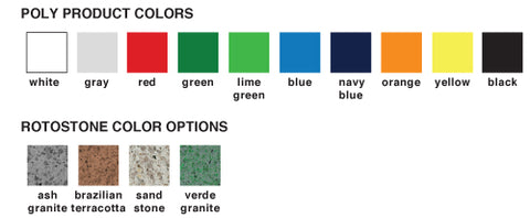 Poly Product Colors