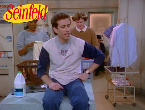 R&B laundry cart in a Seinfeld episode