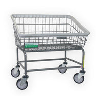 Antimicrobial Large Capacity Front Load Laundry Cart