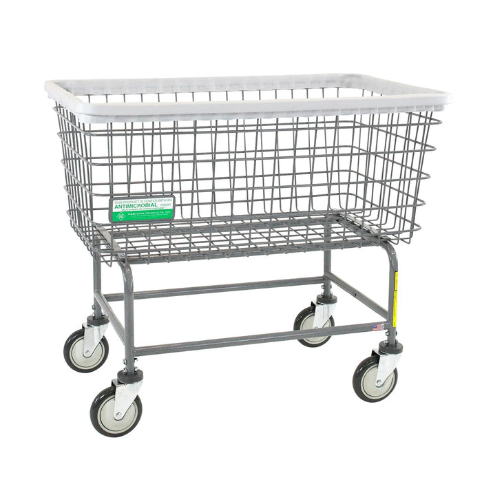 6 Bushel Antimicrobial Wire Laundry Cart