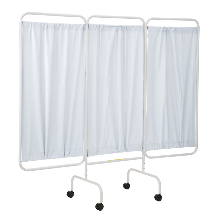 Mobile Three Panel Privacy Screen