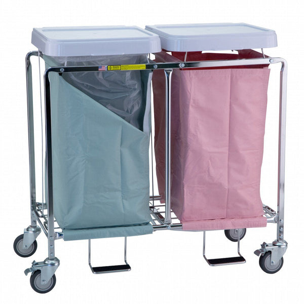 Double Deluxe Easy Access Hamper Stand R Amp B Wire