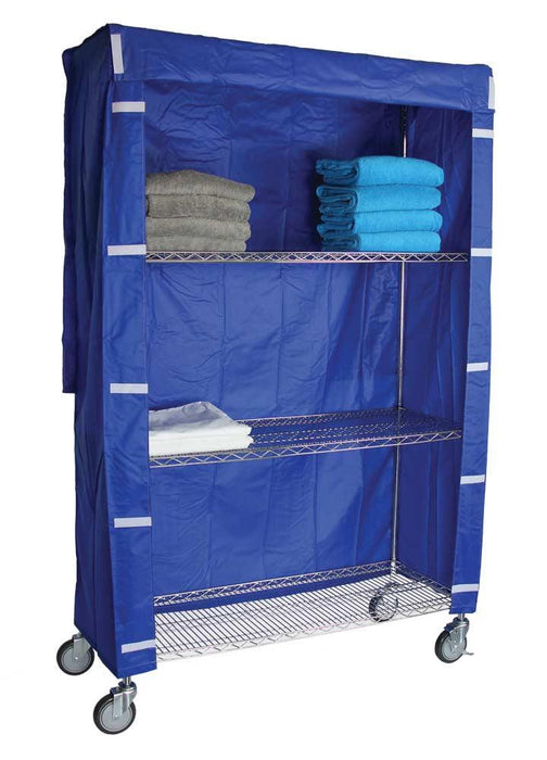 Tall Linen Cart Nylon Cover 18x48x72