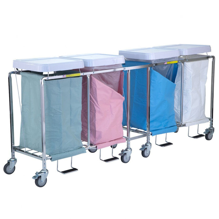 Quad Deluxe Easy Access Hamper Stand