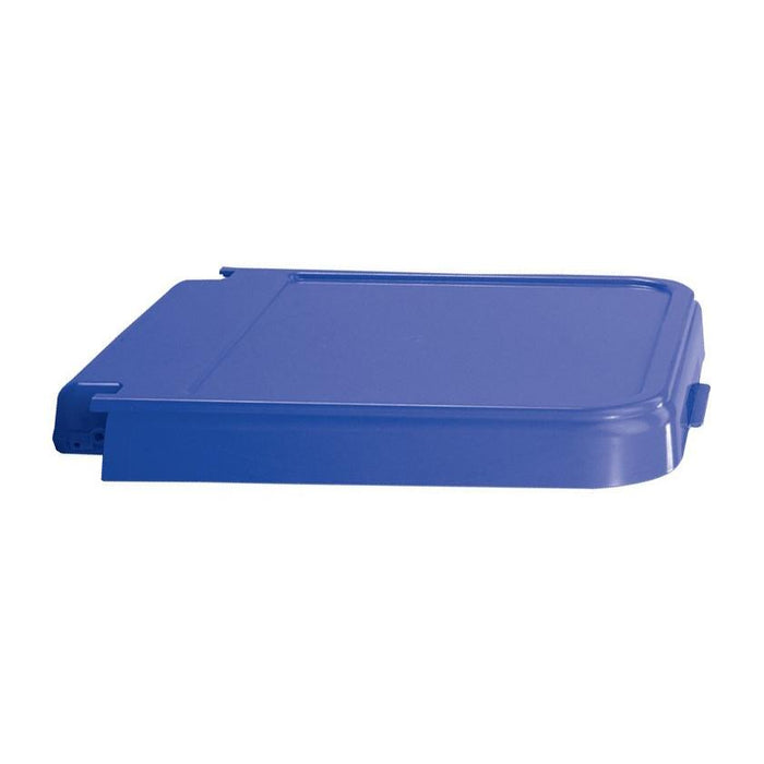ABS Crack Resistant Replacement Lid, Blue