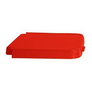 ABS Crack Resistant Replacement Lid, Red