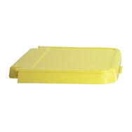 ABS Crack Resistant Replacement Lid, Yellow
