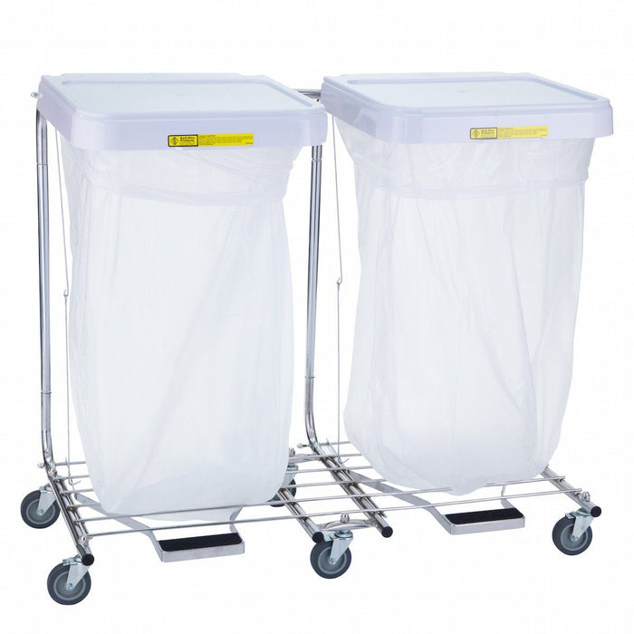 Double Medium Duty Hamper Stand