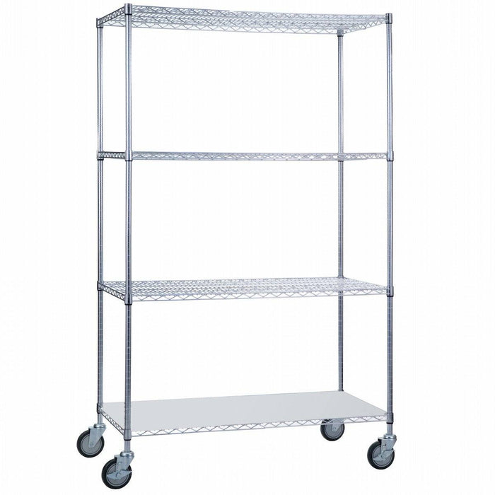 Linen Cart 24 x 36 x 68 With Solid Bottom - SHORT