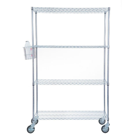 Accessory Basket for Linen Carts & Shelving Units