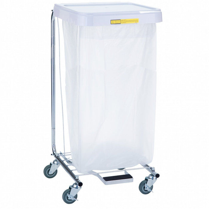 "Single Tall Medium Duty Medical Hamper - 35"" High"