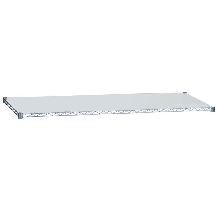 Chrome Plated Solid Shelf 18 x 48