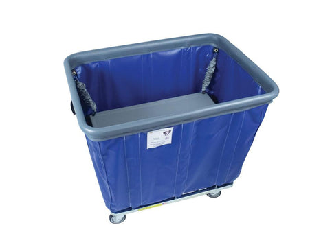Spring Platform Lift To Fit 10 Bushel Vinyl Basket Trucks with Non-Marking Bumper