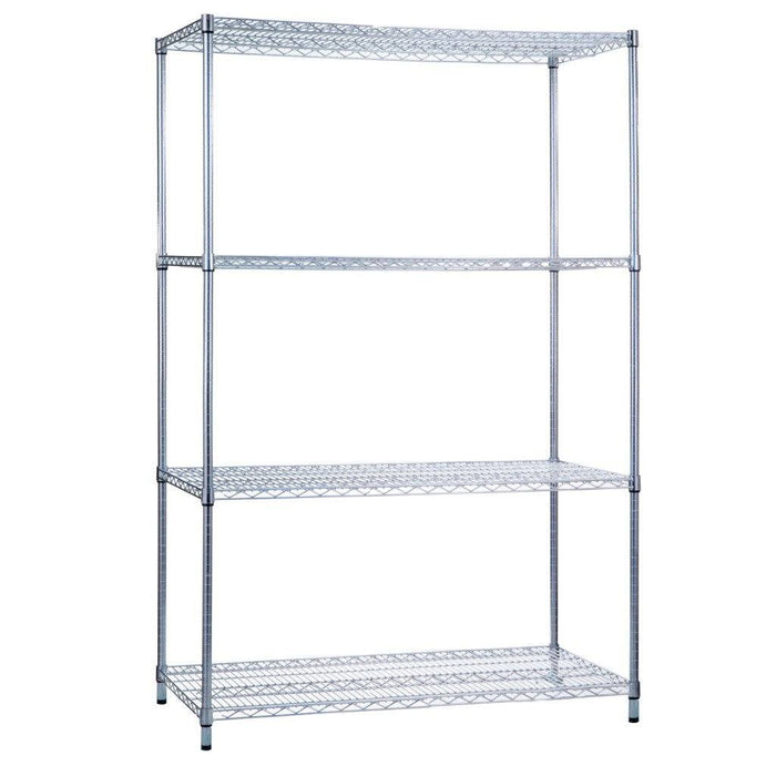 Shelving Unit 18 x 36 x 72, With Wire Shelves (w/o Casters)