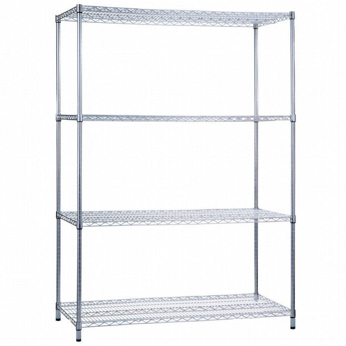 Shelving Unit 18 x 48 x 62 Wire Shelves (w/o Casters)
