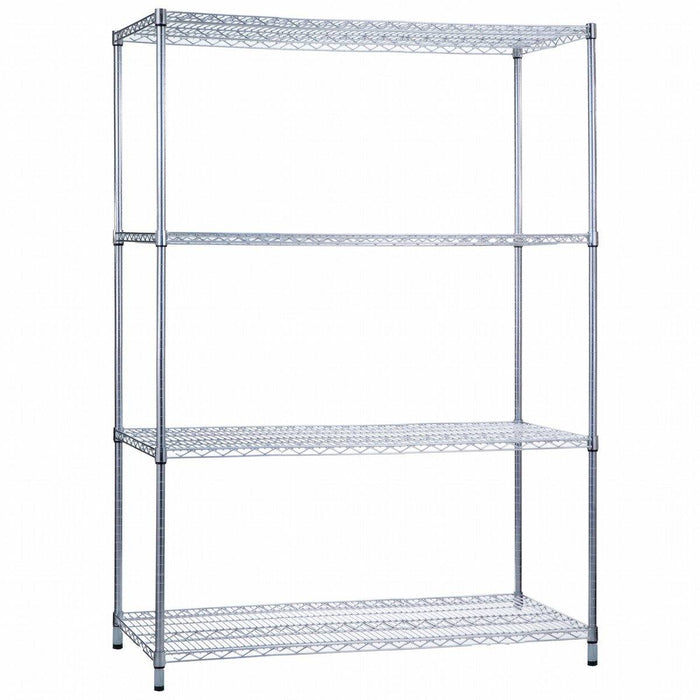 Shelving Unit 24 x 48 x 72, Wire Shelves (w/o Casters)