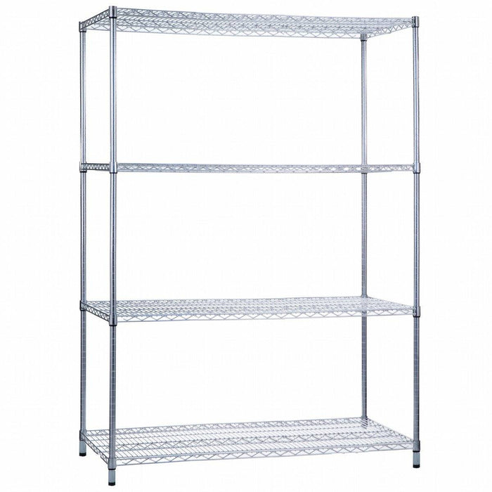 Shelving Unit 24 x 48 x 62, Wire Shelves (w/o Casters)