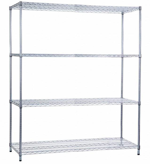 Shelving Unit 18 x 60 x 72, Wire Shelves (w/o Casters)