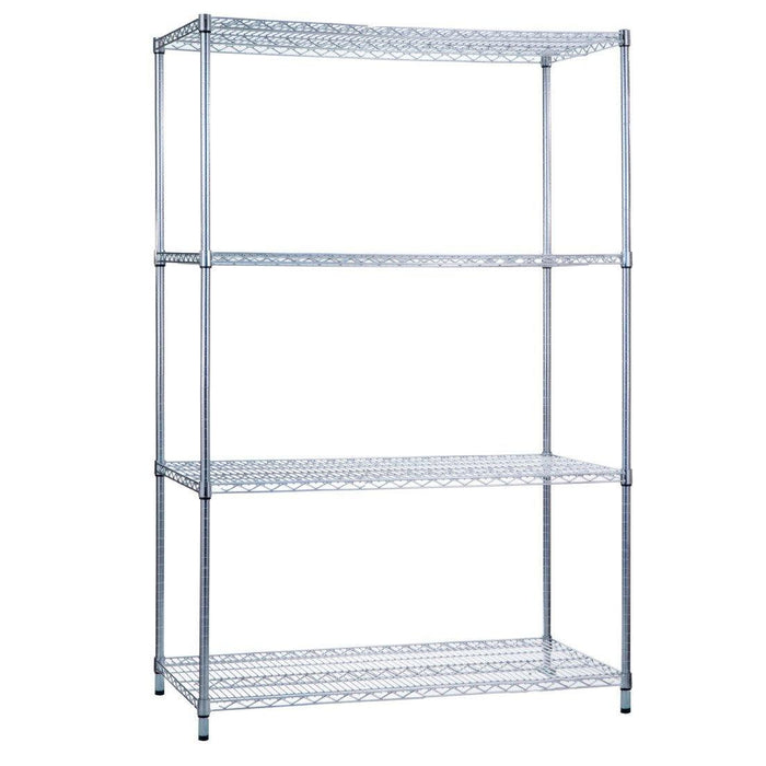 Shelving Unit 18 x 36 x 62 Wire Shelves (w/o Casters)