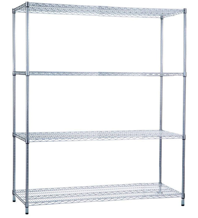 Shelving Unit 18 x 60 x 62, Wire Shelves (w/o Casters)
