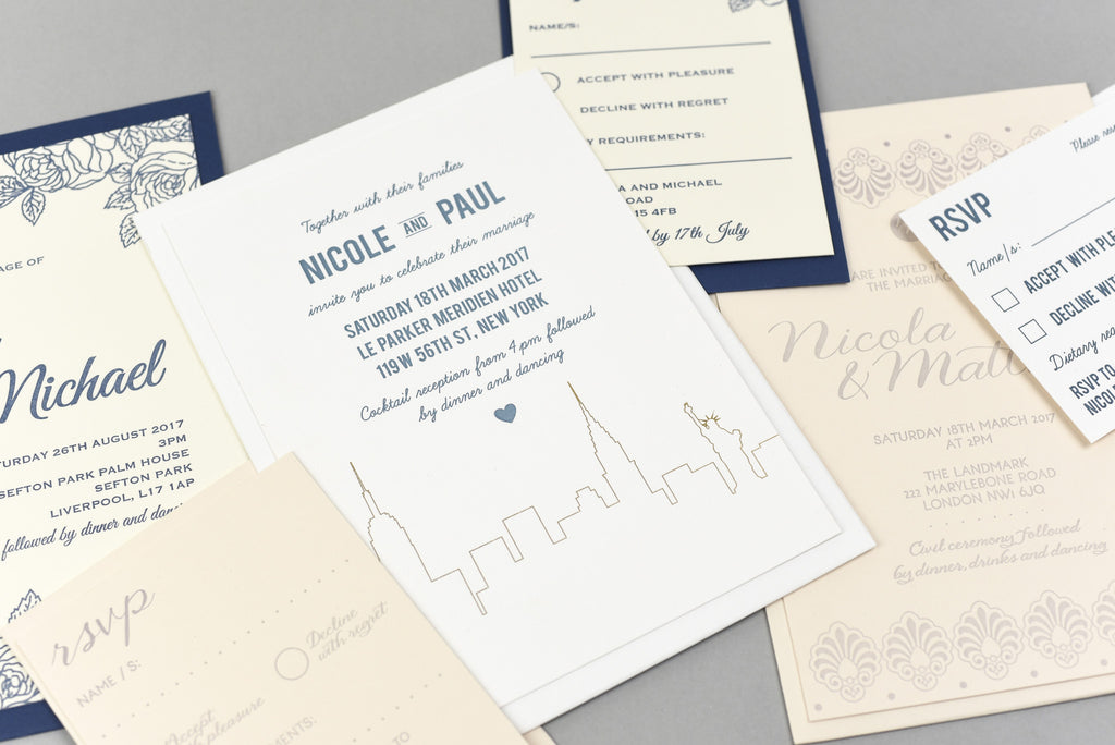 Dimitria Jordan X Lost Heritage wedding stationary collection launch