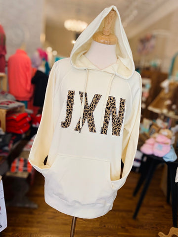 JXN Lightweight Terry Hooded Pullover