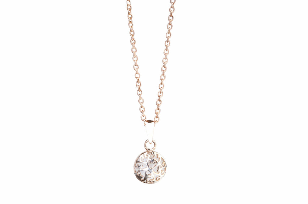 Rose Gold Necklace Petite