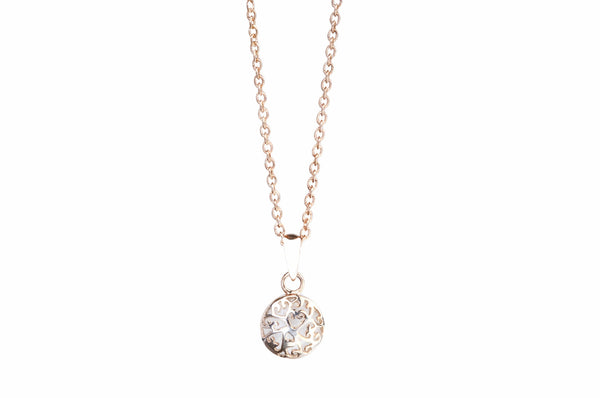 Rose Gold Necklace Petite - EsmeLoves