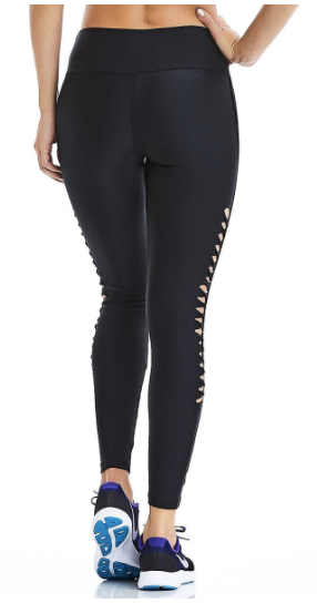 Effect Black Leggings | Fashionable Fitness Wear | Palisa Dance Boutique