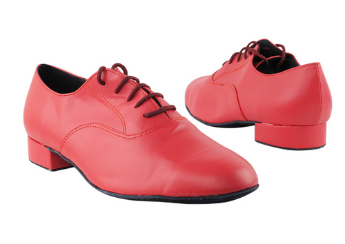 Classic Red Leather Men's Dance Shoes - LIMITED EDITION