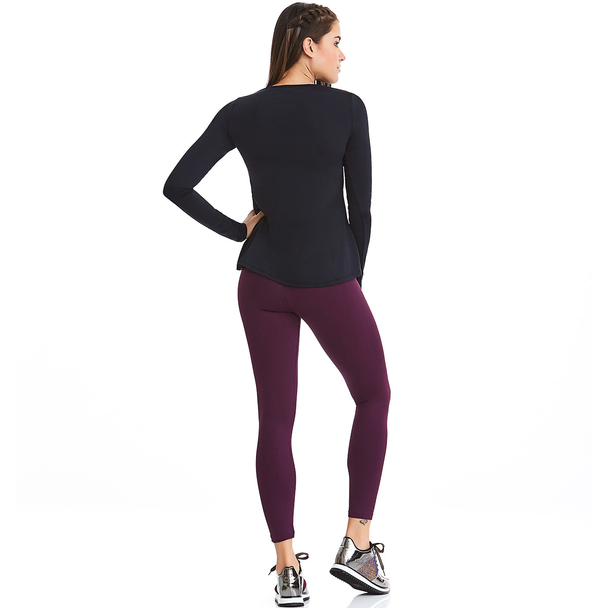 Alto High Waist Basic Leggings | Compression Fitness wear | Palisa Dance Boutique