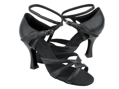 Classy and Strappy Salsa Dance Shoes