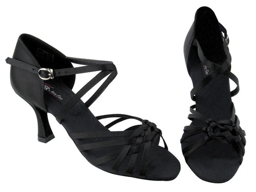 black salsa shoes