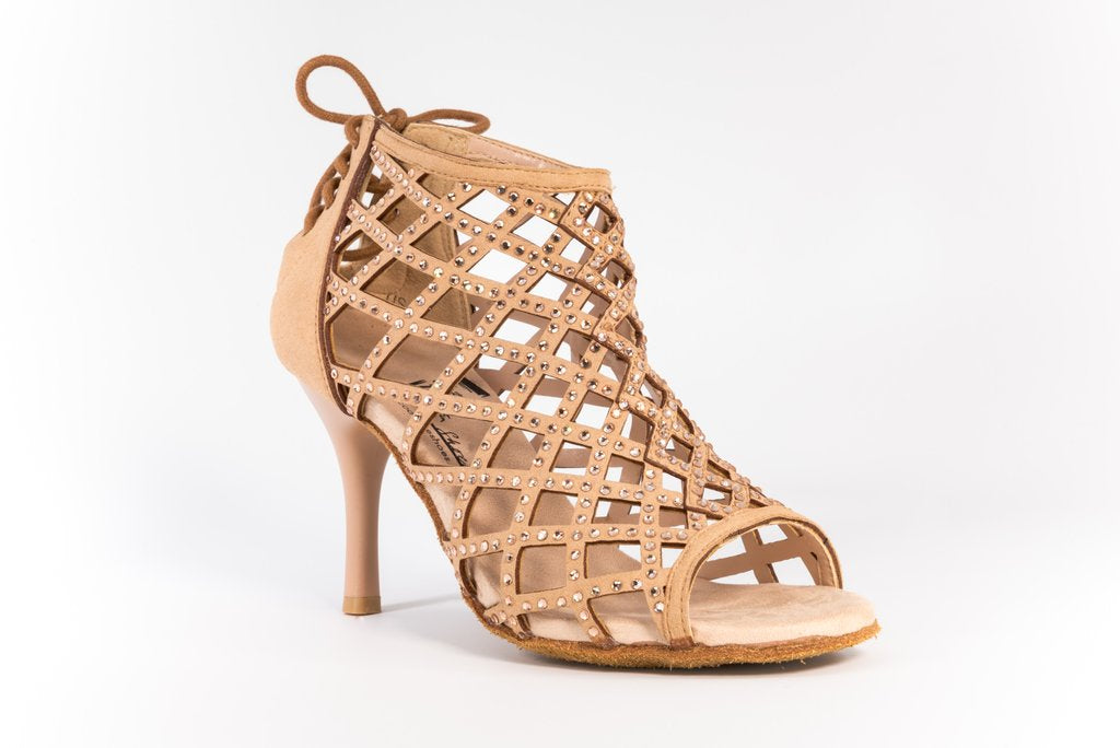 Cage Bootie Dance Shoes