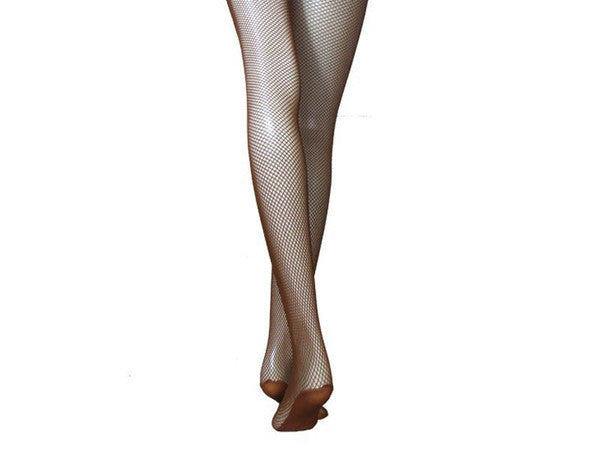 Toffee Fishnet Tights