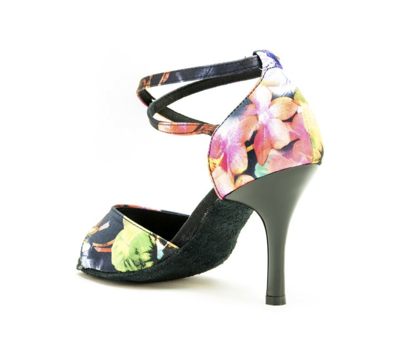 Blossom Print Dance Shoes