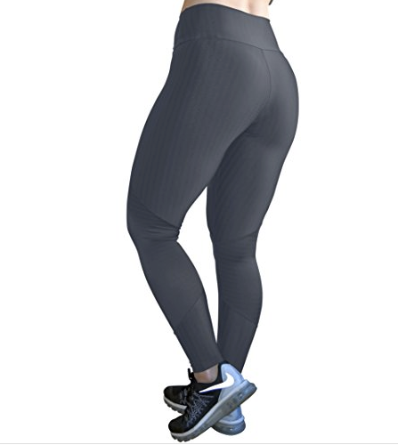 Fashion Grey Zipper Leggings | Fashionable Fitness Wear | Palisa Dance Boutique