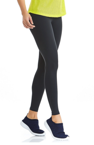 Shine Basic Black Leggings | Compression Fitness wear | Palisa Dance Boutique
